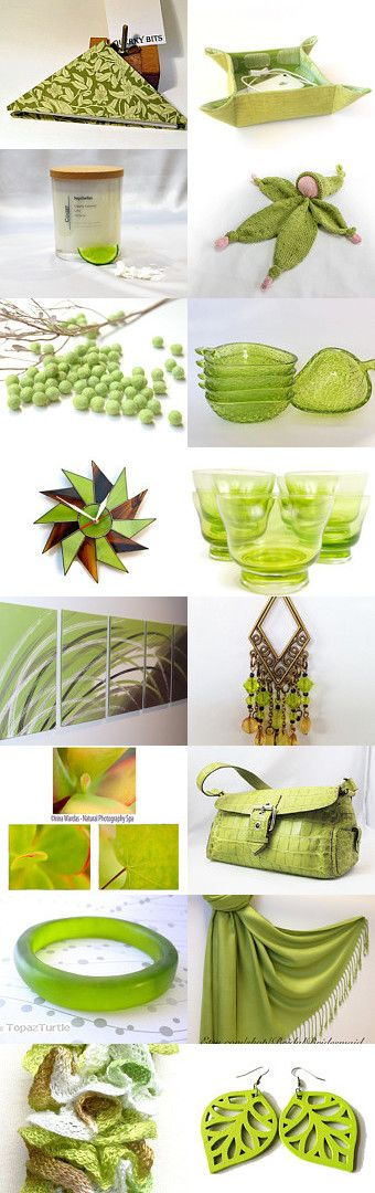 Zesty Lime by Bev on Etsy--Pinned+with+TreasuryPin.com