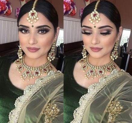 25+ Ideas Wedding Makeup for Brown Eyes Asian Indian Bride #Wedding #Makeup - # ...