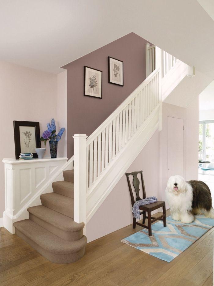 ▷ 1001 + idées de couleurs pour une peinture couloir ...
