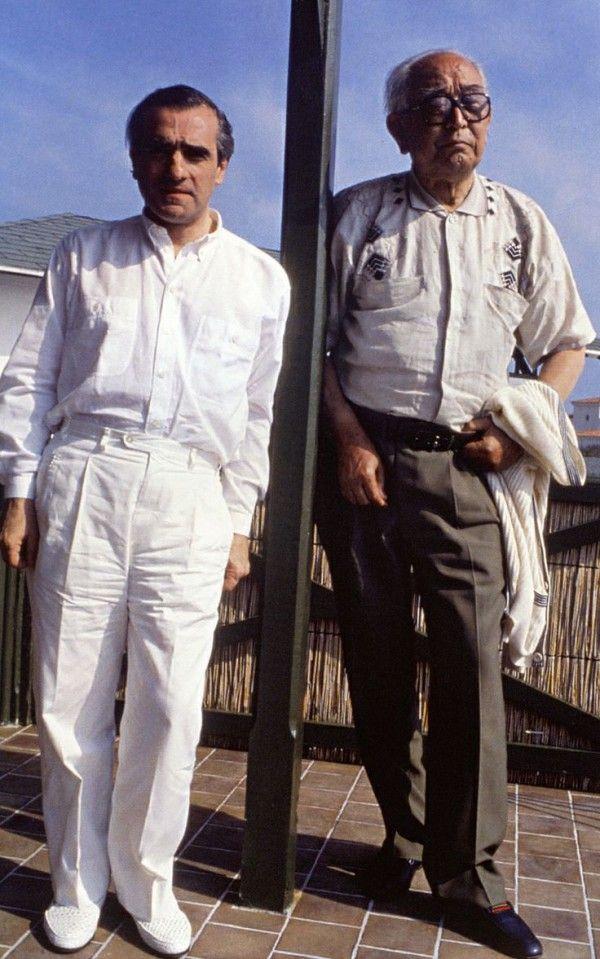 Martin Scorses and Akira Kurosawa