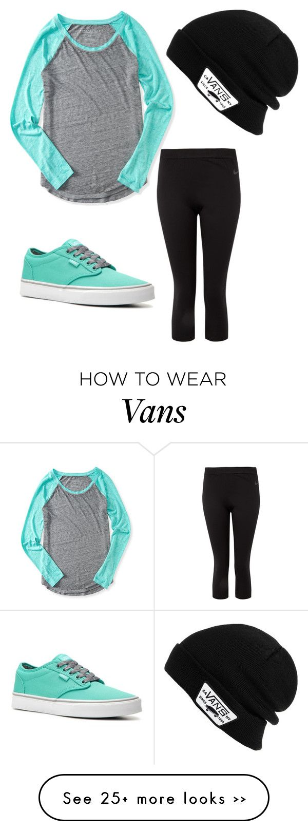 """""""Vans"""" by mese37 on Polyvore featuring NIKE, Aéropostale and Vans"""