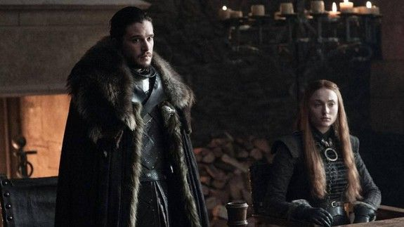 This GIF is every 'Game of Thrones' fan right now  Season 7 of 'Game of Thrones' premiers in less than a week. That means it's peak time for catching up on old episodes considering seriously and frivolously who's going to die and reviewing who a girl still needs to kill.  SEE ALSO: Emilia Clarke has the most badass names for her 4 'Game of Thrones' wigs  But it also means that you're really over all the speculation and you just want to get to the show already.  In other words this:  Yep that…