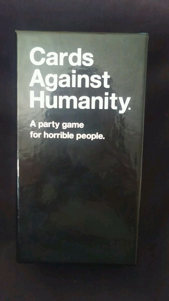 Cards Against Humanity Card Game in Toys & Hobbies, Games, Card Games & Poker | eBay