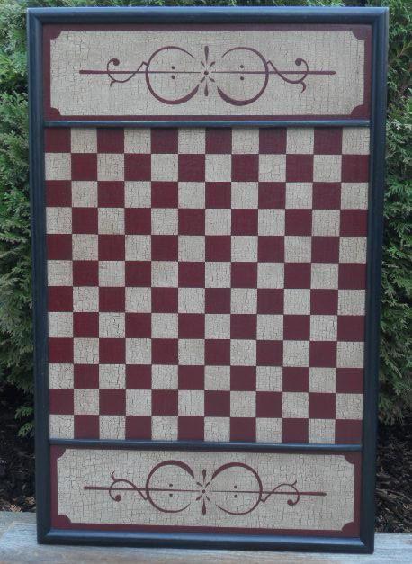 Laminboard Board Block ~ Block checkerboard checkers game board primitive