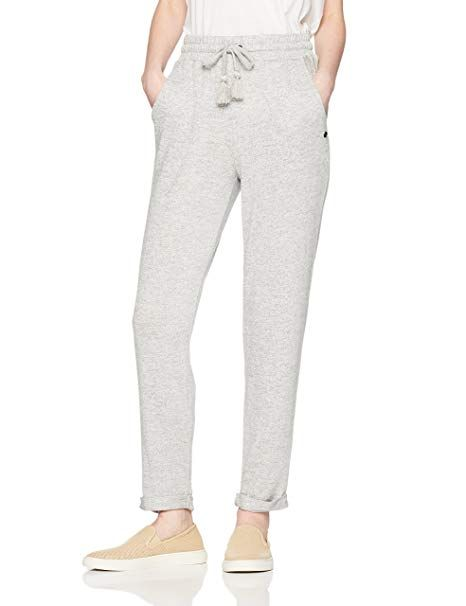 ae5b4c6e0a Roxy Junior's Cozy Chill Pant, Heritage Heather, XS | Best Selling ...
