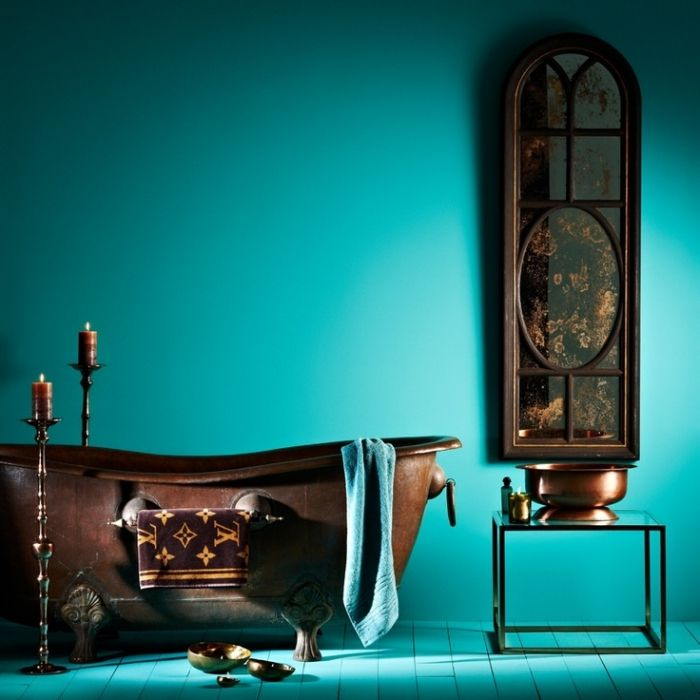 Bathroom Palette #2: Copper & TurquoiseBagni dal mondo | Un blog sulla cultura dell'arredo bagno
