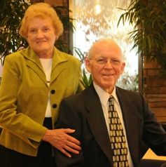 """Ed '51 and Ruth Alma (Mosher) Mitchell '52 It feels like our lives have always been intertwined with Malone University - since our days at Cleveland Bible College. The goal of our lives is to """"Seek ye first the Kingdom of God, and his righteousness; and all these things shall be added unto you."""""""