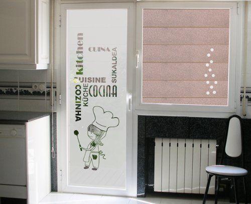 Vinilos Puerta Cocina   As 25 Melhores Ideias De Vinilos Decorativos Para Cocina No