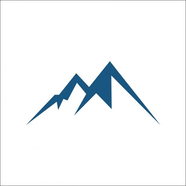 Mountain Vector Icon Isolated On White Background Mountain Clipart Mountain Icons White Icons Png And Vector With Transparent Background For Free Download Latar Belakang Putih Latar Belakang Ikon