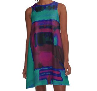 Into The Dark A-Line Dress available at http://www.redbubble.com/people/chrisjoy/works/880927-into-the-dark
