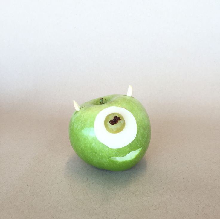 Mike Wazowski Apple | Disney Family: