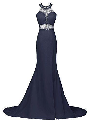 Dresstells® Long Mermaid Prom Dress Beadings Halter Evening Gowns with Slit Dresstells http://www.amazon.co.uk/dp/B01C780RYG/ref=cm_sw_r_pi_dp_Bx19wb0ZEPNB3