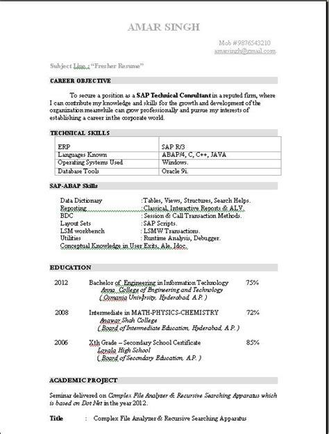 Cover Letter For Sap Basis Consultant \u2013 Sap Consultant Sample Resume