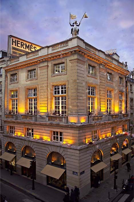 Hermes, Paris