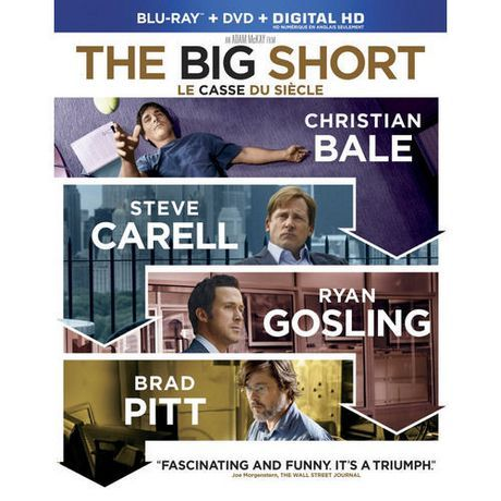 The Big Short (2015) ... In 2008, Wall Street guru Michael Burry realizes that a # of subprime homeloans are in danger of defaulting. Burry bets against the housing market by throwing more than $1b of his investors' money into credit default swaps. His actions attract the attention of banker Jared Vennett (Ryan Gosling), hedge-fund specialist Mark Baum (Steve Carell) & other greedy opportunists. Together, they take full advantage of the impending economic collapse in America. (16-Aug-2016)