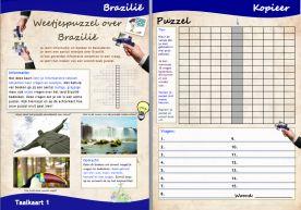 Projecten voor basisscholen  Brazilië M.I. Taalkaart 2 daanebbers.yurls.net