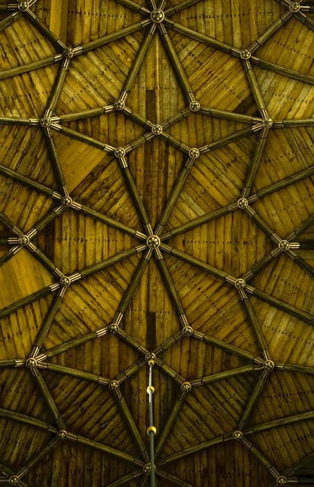 Geometry Bamboo Ceiling