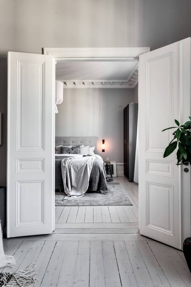 Apartment In Stockholm By Alexander White Bedrooms