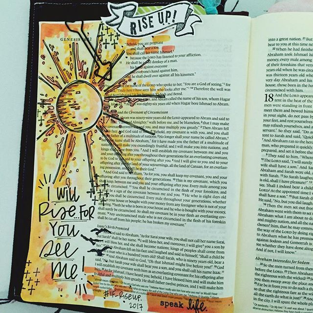 Oddly enough my first page inspired by the #if_riseup kit isn't based off any scripture you will find in the devotionals. I know... I'm quite the rebel. But hear me out. As a contributor to this kit, I prayed over the content and finalized it months ago. At the time I had no doubt God was laying His words at my feet. But how was I to know that I would need to hear them today? I remember typing the words out in hopes that someone, somewhere might have a completely transparent heart moment…