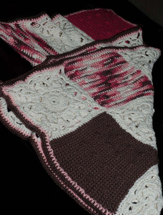 Granny Squares Girl Blanket on Etsy, $60.00 CAD