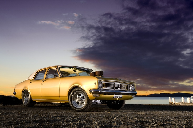 Gold Holden HT Kingswood