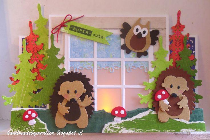 Handmade by Marleen: Super cute