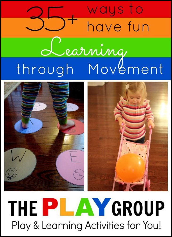 Toddler Approved!: 35+ Ways to Have Fun Learning through Movement from The PLAY Group