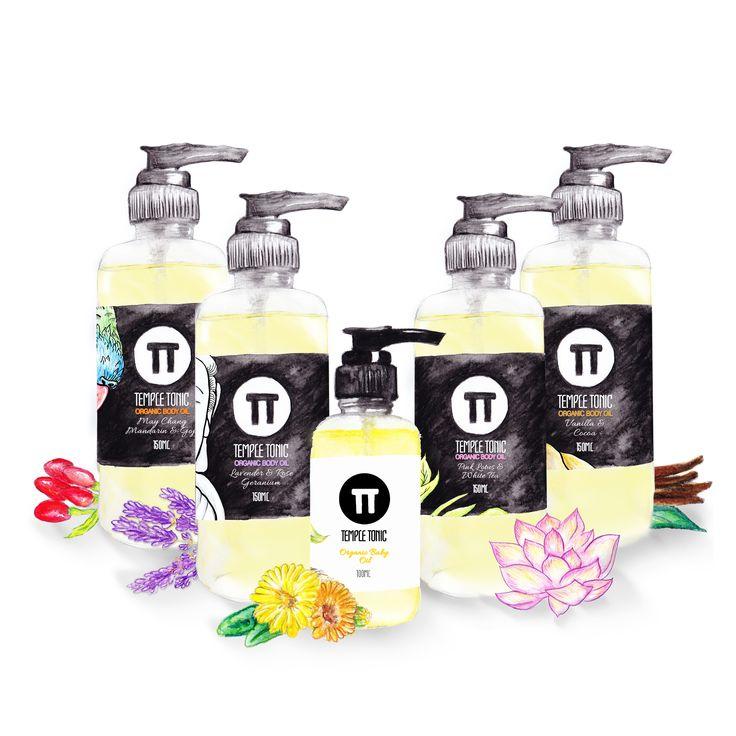 Temple Tonic Organic Body Oil - http://www.templetonic.com/shop.html