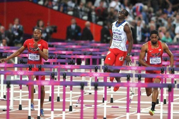 Dayron Robles lesionado y sin medallas en Londres 2012