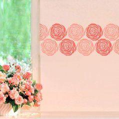 4-Rose-border-stencil-floral-border-roses-stencils
