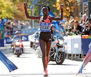 Blog Esportivo do Suíço:  Keitany vence maratona de NY pela 3ª vez, Ghirmay Ghebreslassie vence prova masculina