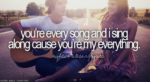 """""""Everything"""" by Michael Buble is a perfect long song for any occasion, especially a wedding."""
