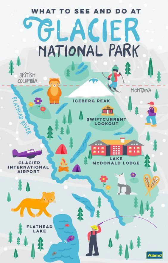 Not sure what to do at Glacier National Park? Disc…
