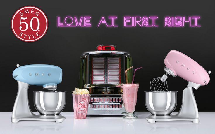 Wallpaper - Smeg 50s Style | Smeg Small Appliances | Pinterest ...