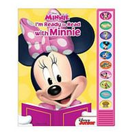 I'm Ready to Read Book - Minnie Mouse