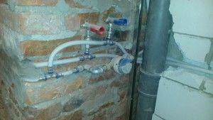 Montaż wodomierza w łazience. #wodomierz #instalacje #hydraulik