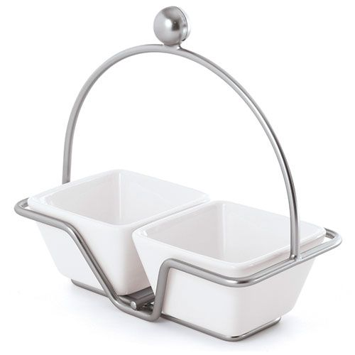 I use mine all the time when friends and family are over. Small Bowl Caddy - The Pampered Chef®