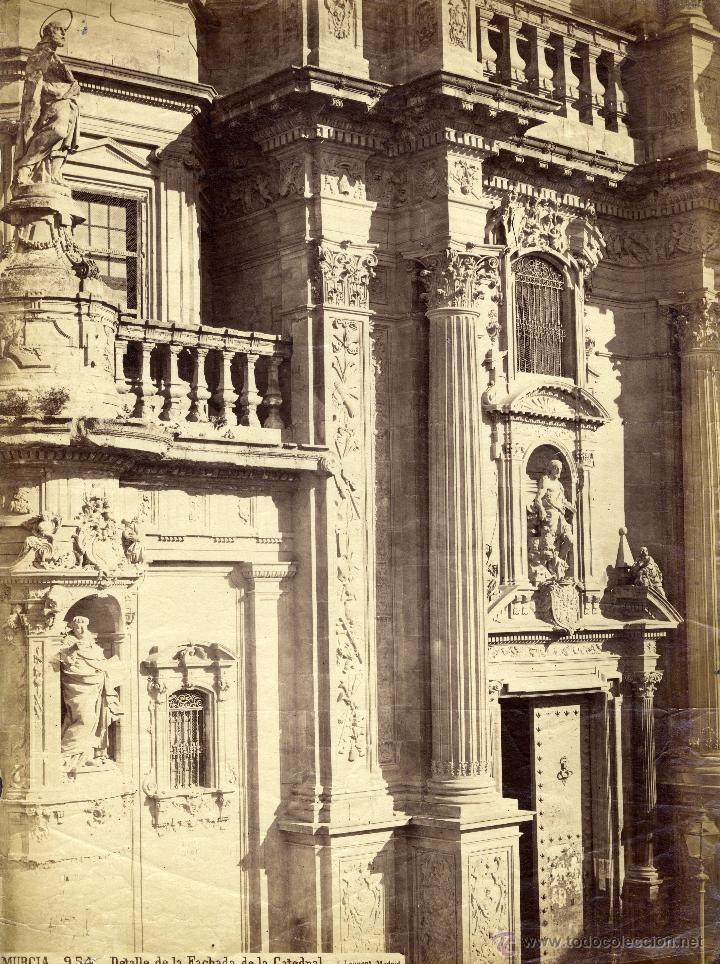 Laurent 954 MURCIA Detalle de la fachada de la catedral S. XIX- Foto 1