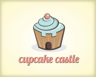 Logo Designing Cupcake Castle