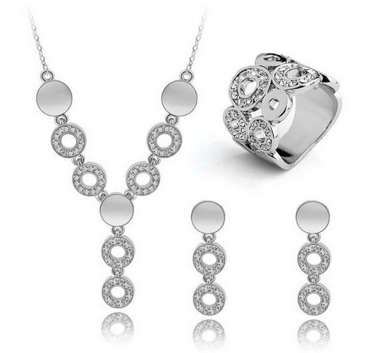 Austrian Crystal Necklace Set