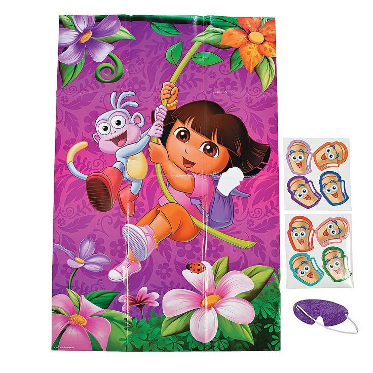 Dora The Explorer™ Dora's Adventure Party Game - OrientalTrading.com