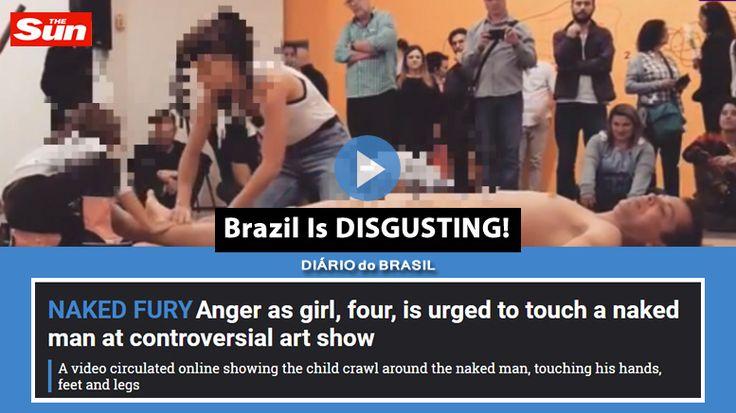 """Jornal inglês destaca exposição com homem nu: """"O Brasil é nojento"""""""