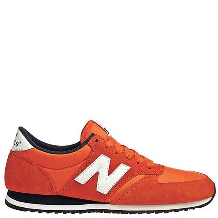 New Balance 420 Orange-Blk