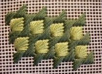 About Composite Stitches - Needlepoint Teacher/ Bordado de Tapiceria/ Maria L.Bertolino/ www.pinterest.com...