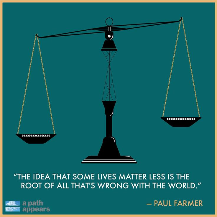 Paul Farmer is a physician and co-founder of Partners In Health, which seeks to bring high-quality medical care and hope to those most in need. #quote