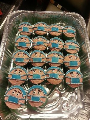 I might have to make these next week for med/tele unit! Too cute!