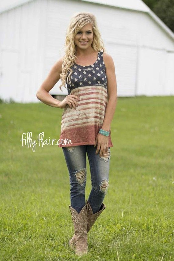 America's Best Tank | The perfect patriotic tank for your summer outfit!