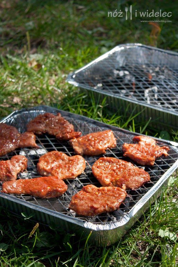 Polędwiczki wieprzowe marynowane w sosie barbecue (przepyszne!)