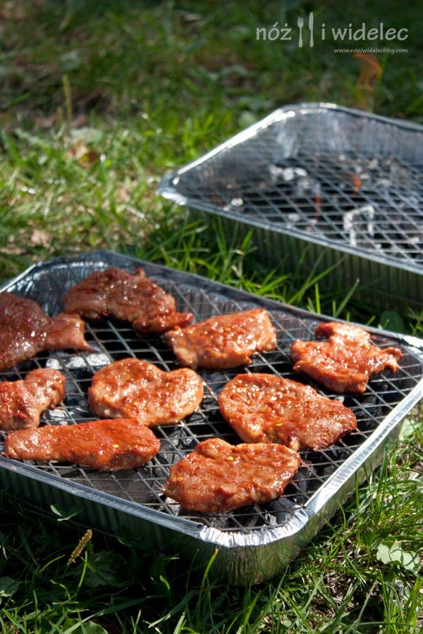 Polędwiczki wieprzowe marynowane w sosie barbecue #gryz #MagazynGRYZ