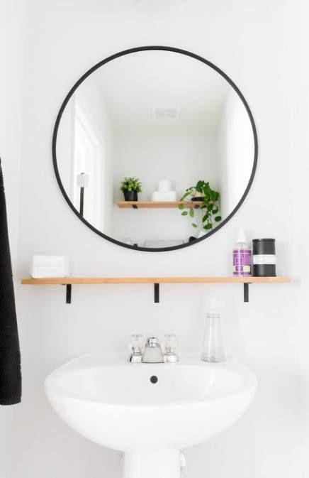 Bathroom Shelf Above Toilet Storage Ideas Powder Rooms 27 New Ideas  – {bathroom}